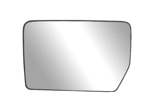 Fit System 33194 Driver Side Heated Mirror Glass w/Backing Plate, Ford F150,...