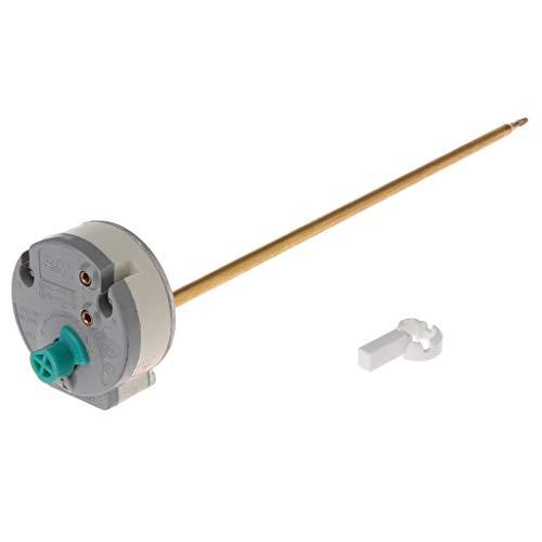 Tandou - Termostato eléctrico de agua con interruptor de control de temperatura de 30 a 80 °C para Ariston