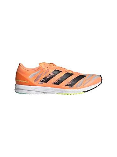 adidas Adizero Takumi Sen 7, Zapatillas para Correr Hombre, Screaming Orange Core Black Solar Yellow, 46 2/3 EU