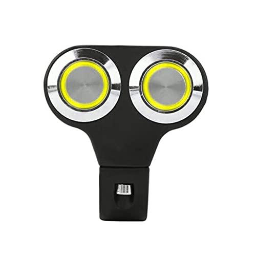YYOMXXOM Botón Manual del Manillar de la Motocicleta de 25 mm Interruptor de Control de la lámpara de luz LED (Color : Yellow)