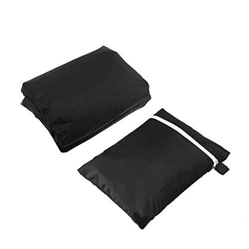 BOC Cubiertas para muebles de jardín, cubierta de silla de tela Oxford 210D, cubierta proteBOCra antienvejecimiento a prueba de polvo con cremallera y cordón para silla de playa al aire libre/colum