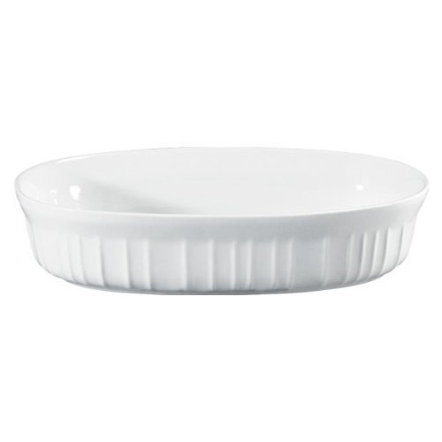 Corningware 1092970 French White 15 OZ Oval Casserole Dish