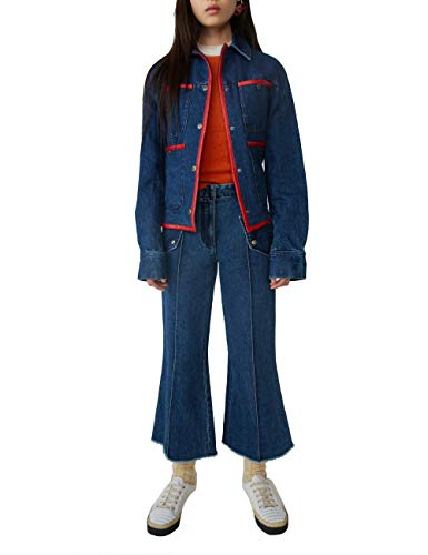 ACNE STUDIOS Luxury Fashion Damen AK0031838 Blau Jeans | Herbst Winter...