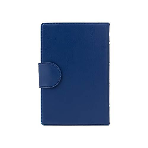 Medidos Medikamentenbox 7 Tage 4 Fächer | 1 Pillendose für jeden Wochentag | Tablettenbox: Morgen, Mittag, Abend, Nacht | Kunststoffetui in Blau