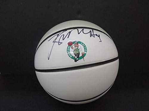 Kevin McHale Signed Celtics White Panel Basketball Auto PSA/DNA X84210 - Autographed Basketballs