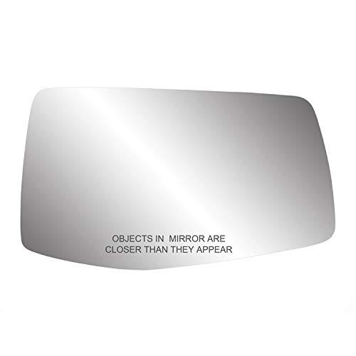 Replacement Glass for Silverado/Sierra 1500, No spot mirror, RH