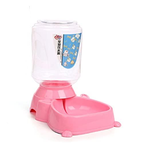 MGJX Alimentador Automático, Bebederos De Plástico Seguros Para Mascotas, Alimentador Automático Para Perros Y Gatos, Bebederos Para Animales, Cuencos Para Mascotas, Cuencos De Agua Para Mascotas, Beb