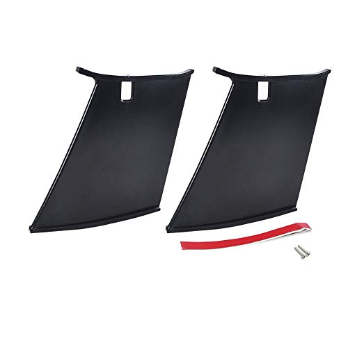 TONGDAUR 2 stuks Car Rear Wing Spoiler Ondersteuning Stabilizer for Subaru STi 04-07 Black Auto accessoires for het exterieur