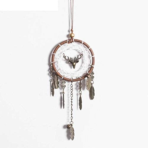 Vintage Alloy Feather Handmade Dream At the price Bombing free shipping of surprise Gift Catcher Wall Pendant