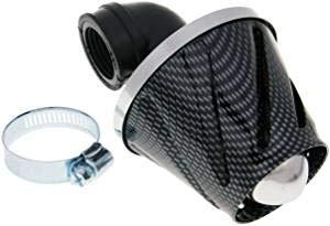 Tuning Sport Luftfilter - 90° - Carbon/Ø 28-35 mm - für Motorrad Roller Moped