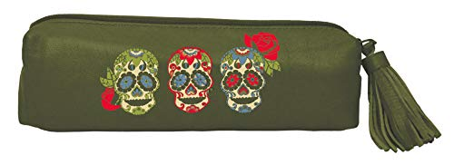 Artisan by Lang Sugar Skull Accessory Pouch Pen Case 9022004