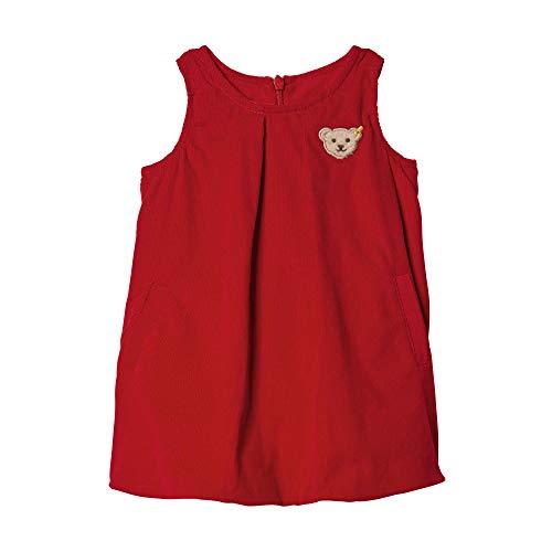 Steiff Mädchen Kleid, Rot (Jester Red 2120), 98 (Herstellergröße: 098)