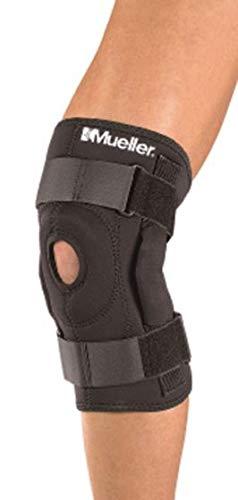 Mueller Extra Lite - Kniebandage zum Wickeln - mit Scharnier - Unterstützung der Bänder - Normale Größe