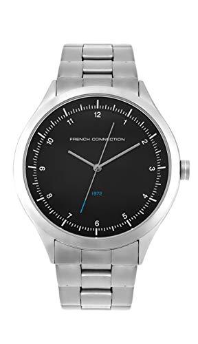 French Connection Quarz Uhr mit Edelstahl Armband FC142SM