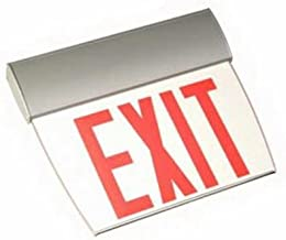 Emergi-Lite Edge-Lit Exit Sign, LED Lamp, 120/277 volt AC