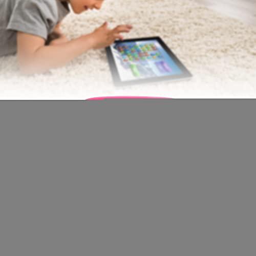Cubierta a prueba de golpes de la tableta, casco del ordenador portátil Tablet Rugged Shell, para el hogar (rojo rosa)