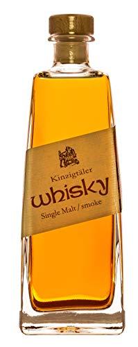 Kinzigtäler Whisky (1 x 0.5 l) Single Malt Smoke 42% Vol. deutscher Whisky aus dem Schwarzwald