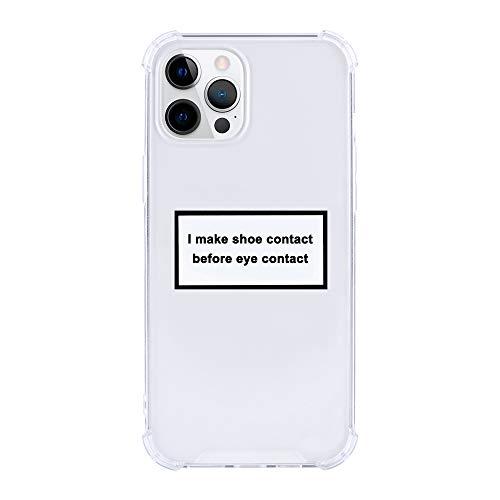 Contacto de zapatos antes del contacto del ojo Sneakerhead funda para teléfono delgada delgada a prueba de golpes protectora TPU parachoques duro PC contraportada moda compatible con iPhone XR caso