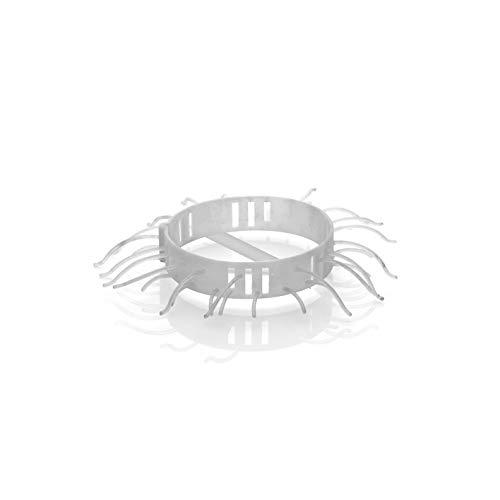 Abfluss-Fee Dusche Nachfüllset Duftstein Apfel-Zitrone & 4X Haarfänger, Grün, Passend