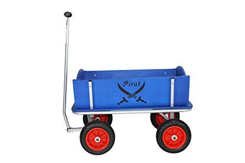 Beachtrekker Style Holzbollerwagen, Handwagen, Leiterwagen, Pirat