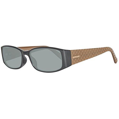 Guess Sonnenbrille GU7259 55C95 Gafas de Sol, Negro (Schwarz), 55 para Mujer