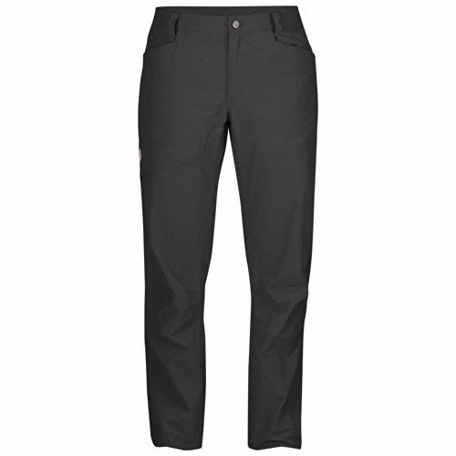 FJÄLLRÄVEN Damen Daloa MT Trousers Lange Hose, Dark Grey, 34