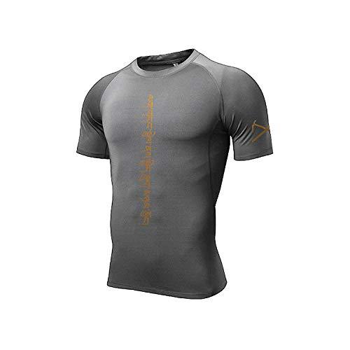 Shortsleeve Camiseta ,Camisetas Deportivas En 3D, Ropa Deportiva para Correr Al Aire Libre, Camisetas De Secado Rápido, Camisas Livianas, Patrón Cómodo 1_XXL