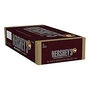 Hershey s Milk with Almond 36-Count