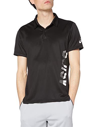 [アシックス] トレーニングウエア CROPPED ASICSポロシャツ 2031C218 メンズ 001(パフォーマンスブラック) 3XL