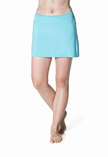 Skirt Sports Women's Gym Girl Ultra Skirt, Small, Aquamarine