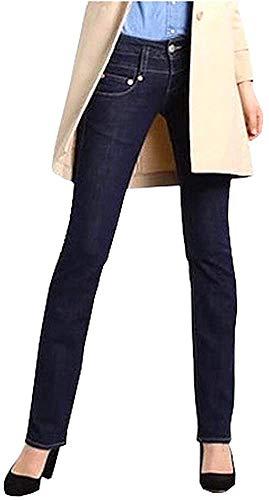 Herrlicher Damen Jeanshose Pitch Denim Stretch (Rinsed Denim, 28x34)