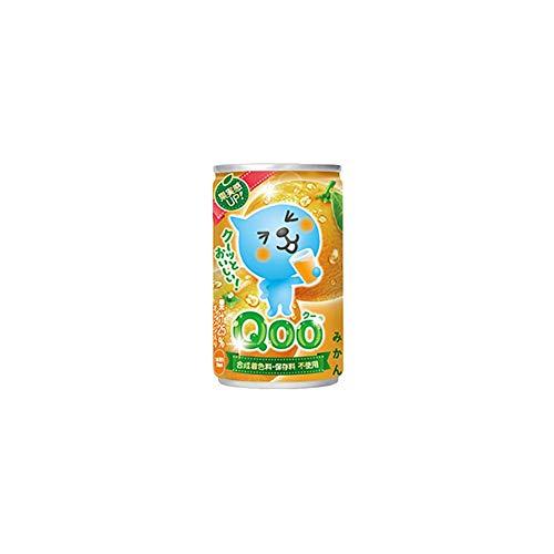 ミニッツメイド Qoo(クー) みかん 160g×60本 缶