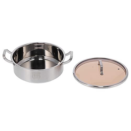 SHYEKYO Suministros de Cocina, Olla Caliente de Gran Capacidad de 5.4L Que Ahorra Tiempo para Estufa de cerámica eléctrica