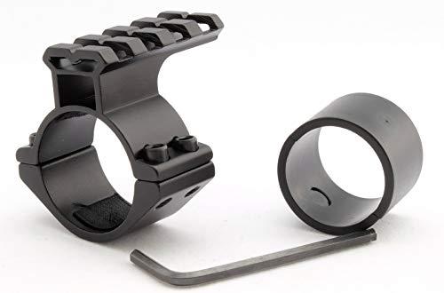 Atom Optics Alcance Del Rifle Accesorio Soporte / 30mm+ 25mm Linterna Soporte/ Laser Soporte + Riel de Tejedor