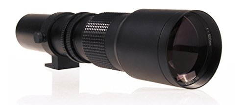 Sony Alpha A6300enfoque Manual lente de alta potencia de 1000mm.