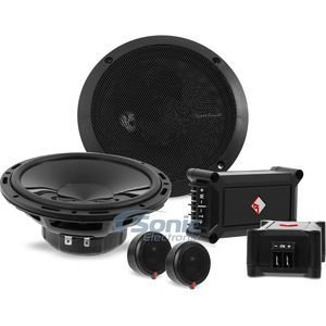 """Rockford Fosgate P165-SE Punch 6.5"""" 2-Way Euro Fit Component Speaker System with External Crossover (Pair)"""