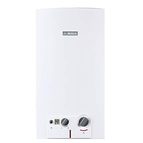 Calentador de agua instantáneo 2 servicios plus gas LP 16L miniMAXX Bosch