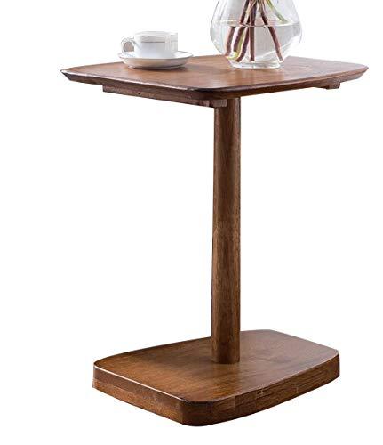 F-S-B bijzettafel massief hout salontafel houten eindtafel voor woonkamer bank slaapkamer nachtstandaard