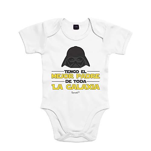 SUPERMOLON 7937 Body, Blanco, 3 Meses Unisex bebé