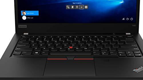 Lenovo ThinkPad T490 Intel Core i7 10th Gen 14-inch Full HD Thin and Light Laptop (16GB RAM/ 512GB SSD/ Windows 10 Professional/ MX250 2GB Graphics/ Black/ 1.55 kg), 20RYS07R00