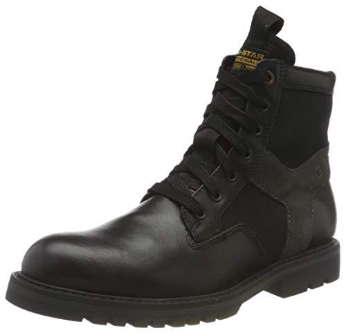 G-STAR RAW Herren Powell II Ankle Boot, Black C508-990, 44 EU