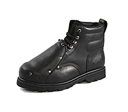 "Rhino Men's 6"" Steel Toe Metatarsal Leather Work Boot"