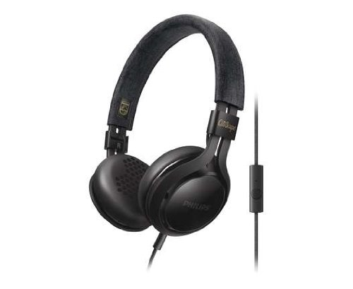 Philips SHL5705BK/00 CitiScape koptelefoon (met beugel, 40 mm premium neodymium-luidspreker, incl. universele handsfree-functie zwart