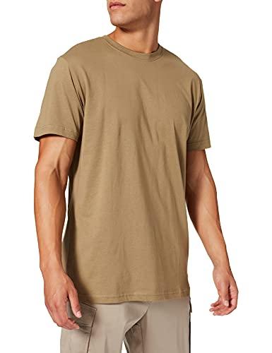 Urban Classics Basic Tee Camiseta, Khaki, 3XL para Hombre