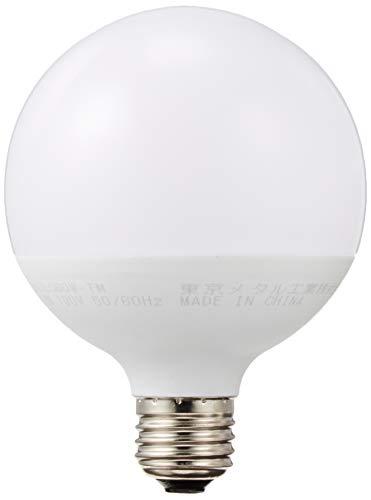 東京メタル 調光器非対応LED電球 ボール電球形 全光束700lm 電球色相当 口金E26 LDG7LG60W-TM