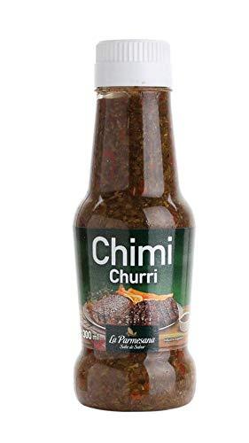 Chimichurri Sauce aus Argentinien, Flasche300ml - Chimichurri LA PARMESANA 300ml
