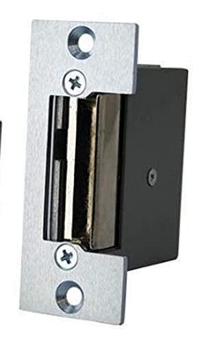 Electric Door Strike Remote Unlock Mechanism for Security Alarms, Keypad Entry, & Audio Video Door Phone Intercom Systems (12V DC)