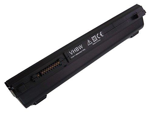 Batterie Li-Ion vhbw pour ordinateur portable, notebook Toshiba Portege R700-155, R700-15Q, R700-15R, R700-15T, R700-15U. Remplace: PA3831U-1BRS,