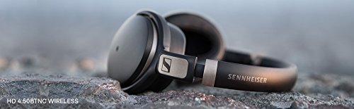 ゼンハイザーワイヤレスノイズキャンセリングヘッドホン密閉型/NFC・Bluetooth対応/aptX/マルチペアリング対応HD4.50BTNC【国内正規品】