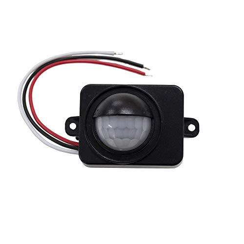 CPGS 屋外防水対応 IP65 小型 人感センサー スイッチ 赤外線 PIRセンサー AC100V 日本語説明書付き